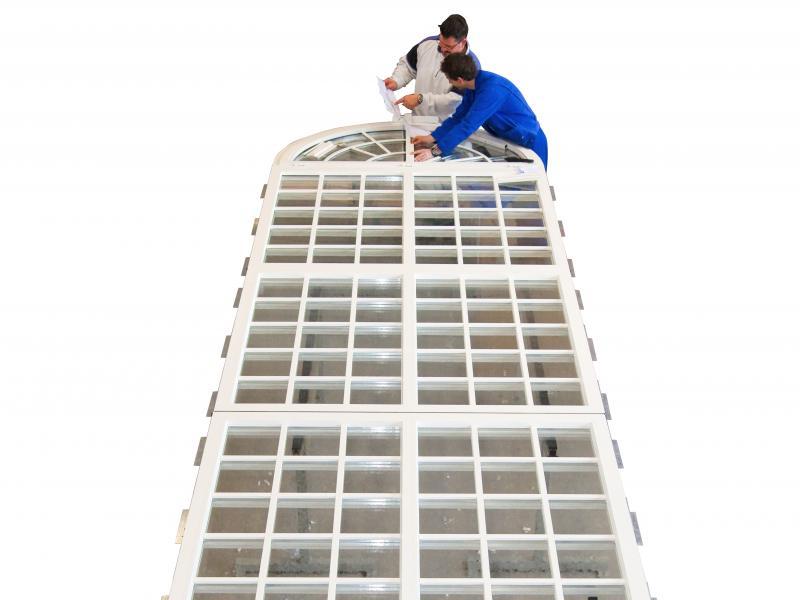 Kirchenfenster, Urheber: Werbung Fischer
