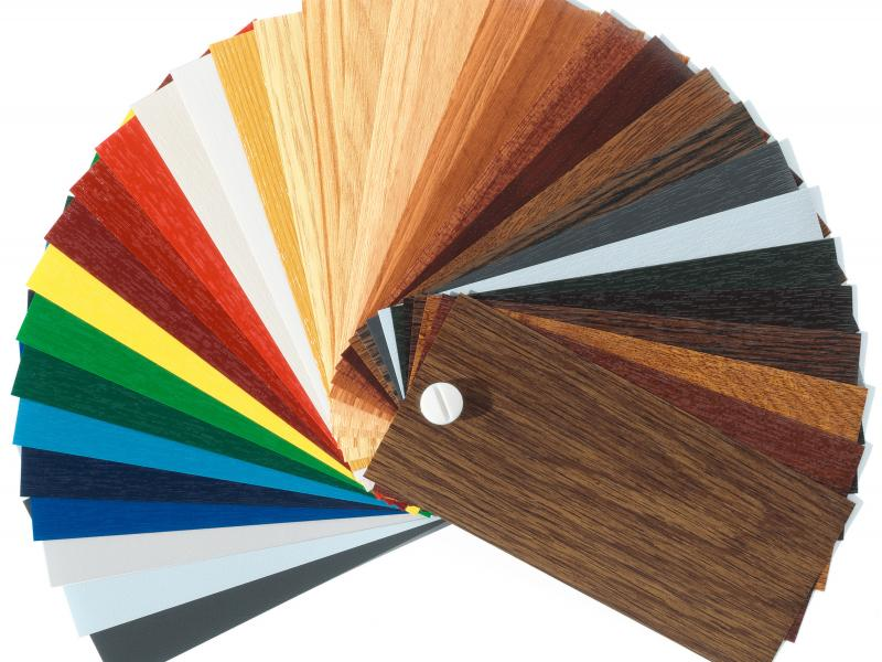 Farbfächer, Urheber: Rehau