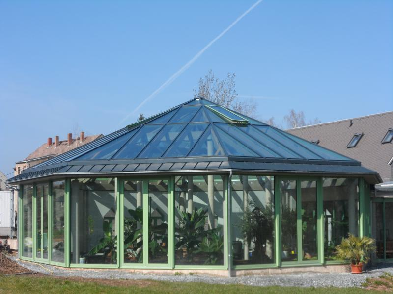 Kundenpavillon in Oederan